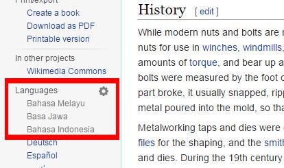 Terjemahan versi bahasa Indonesia, Jawa, dan Melayu belum tersedia